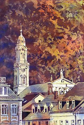 Painting - Heidelberg Evening by Ryan Fox
