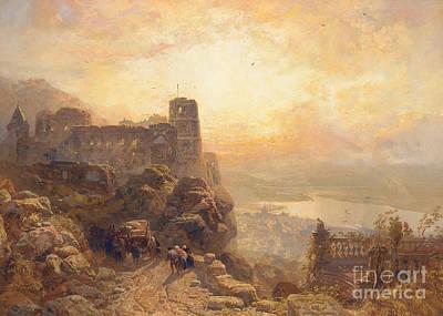 Remains Painting - Heidelberg by James Webb