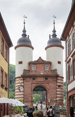 Photograph - Heidelberg Old Bridge Gate by Teresa Mucha