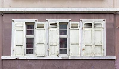 Photograph - Heidelberg Shutters by Teresa Mucha