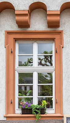 Photograph - Heidelberg Window 01 by Teresa Mucha
