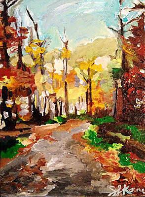 Painting - Heidi's Place by Sarah LaRose Kane