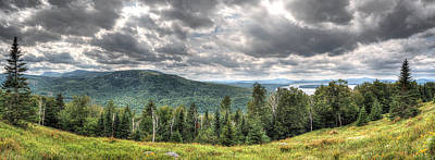 Digital Art - Height Of The Land Panorama by Patrick Groleau