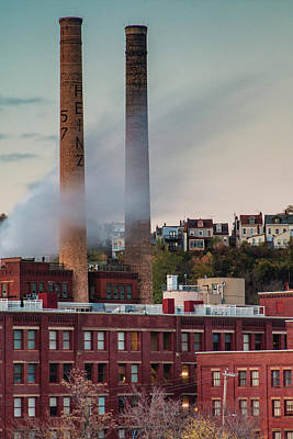 Photograph - Heinz Factory In Pittsburgh by Jim Cheney