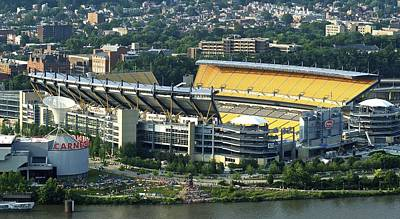 Photograph - Heinz Field From Grandview Avenue by Frozen in Time Fine Art Photography