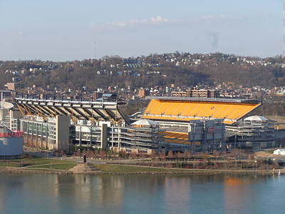 Heinz Field Art Print by James Guentner
