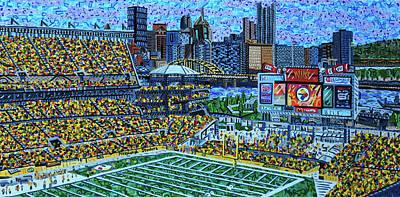 Painting - Heinz Field by Micah Mullen