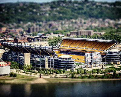 Heinz Field Photograph - Heinz Field Pittsburgh Steelers by Lisa Russo