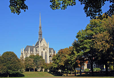 Heinz Memorial Chapel Art Print by Ben Prepelka