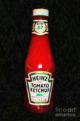 Photograph - Heinz Tomato Ketchup by Wingsdomain Art and Photography
