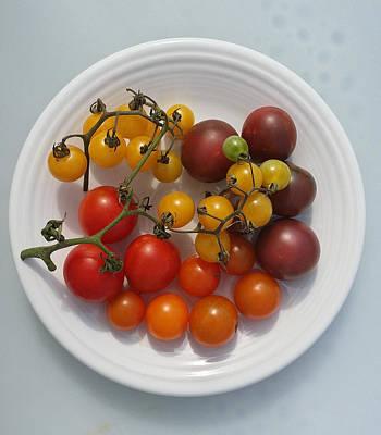 Heirloom Tomato Pure Art Print by Mark Victors