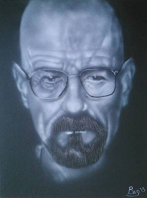 Painting - Heisenberg by Bas Hollander