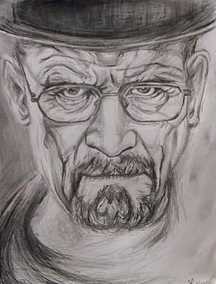Heisenberg Art Print by Hannah Curran