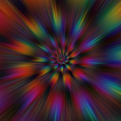 Digital Art - Helcoid Explosion by Ruth Moratz