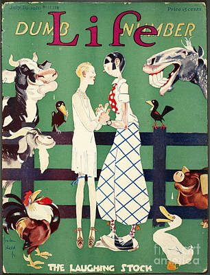 Held: Magazine Cover, 1926 Art Print