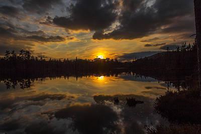 Photograph - Heldriver Pond by Rhys Templar