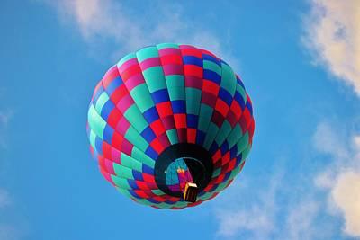 Helen Hot Air Balloon Art Print