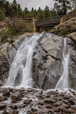 Photograph - Helen Hunt Falls Vertical by Teresa Wilson