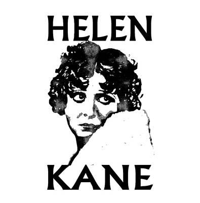 Popular Mixed Media - Helen Kane by Otis Porritt