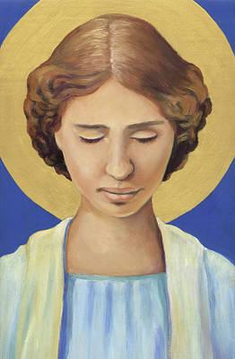 Painting - Helen Keller by Linda Ruiz-Lozito