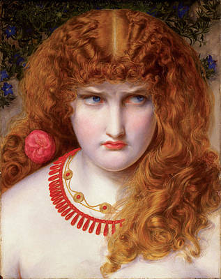 Hera Painting - Helen Of Troy by Frederick Sandys-Walker