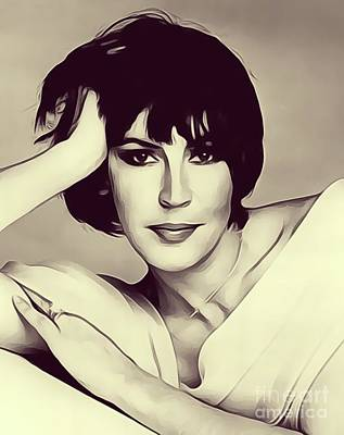 Music Royalty-Free and Rights-Managed Images - Helen Reddy, Singer by Esoterica Art Agency