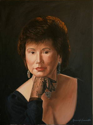 Painting - Helen by Rosencruz  Sumera