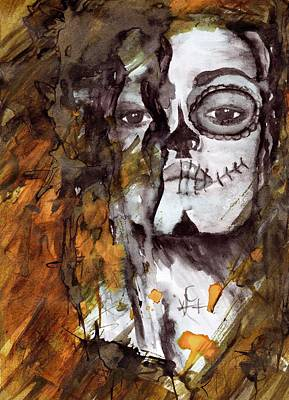 Bellatrix Lestrange Painting - Helena - Bellatrix Lestrange by Karen Cessford
