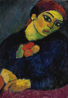 Jawlensky Painting - Helene by Alexej von Jawlensky
