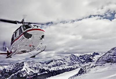 Photograph - Helihiking In The Canadian Rockies by Kay Brewer