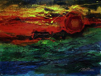 Painting - Heliocentric 2 by    Michaelalonzo   Kominsky