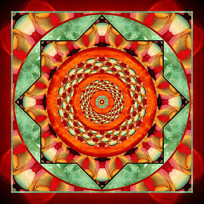 Mandala Photograph - Helios by Bell And Todd