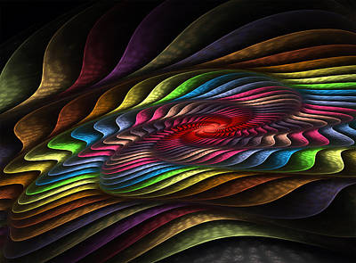 Digital Art - Helix by Barbara A Lane