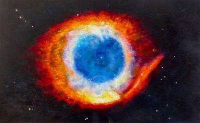 Helix Nebula Art Print by Adrienne Martino