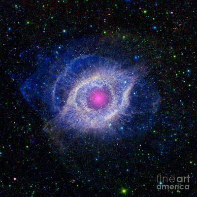 Helix Nebula, Ngc 7293, Caldwell 63 Art Print