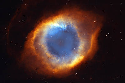 Abstract Royalty-Free and Rights-Managed Images - Helix Nebula by Ricky Barnard