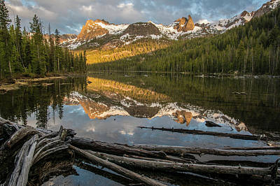 Photograph - Hell Roaring Lake Sunrise 2 by Aaron Spong