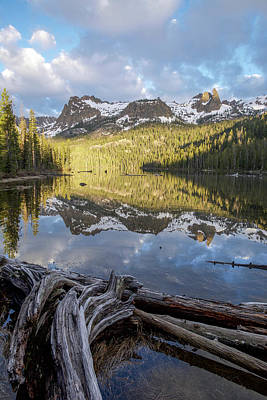 Photograph - Hell Roaring Lake Vertical by Aaron Spong