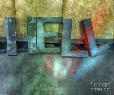 Hell  Art Print by Steven Digman