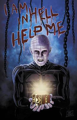 Hellraiser Digital Art - Hellbound Heart by Matt James