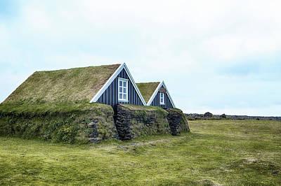 Turf Photograph - Hellisandur - Iceland by Joana Kruse