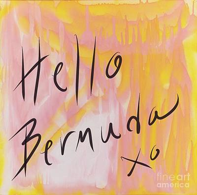 Painting - Hello Bermuda by Sheila McPhee