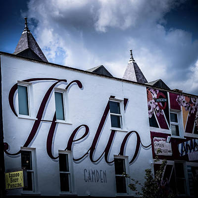 Photograph - Hello Camden by Mike Molloy Photo