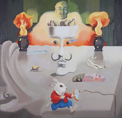 Painting - Hello Dali by Susan McNally
