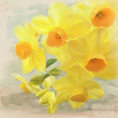 Hello February Art Print by Cindy Garber Iverson