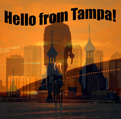 Photograph - Hello From Tampa by David Lee Thompson