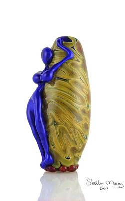 Lampwork Glass Art - Hello Goddess by Sheila Morley