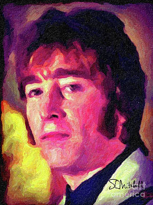Painting - Hello Goodbye To John by Stephen Mitchell
