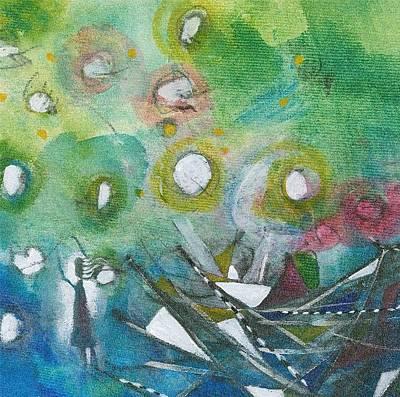 Painting - Hello Hello Hello by Christine Alfery