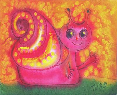 Wild And Wacky Portraits - Im so small and pink by Luminitsa Taburtsa